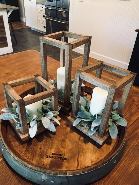 Gorgeous Wedding Centerpieces without Flowers