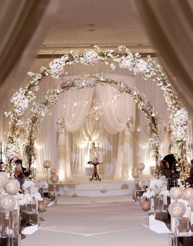 Impressive Indoor Wedding Aisle Decor Ideas That Inspire