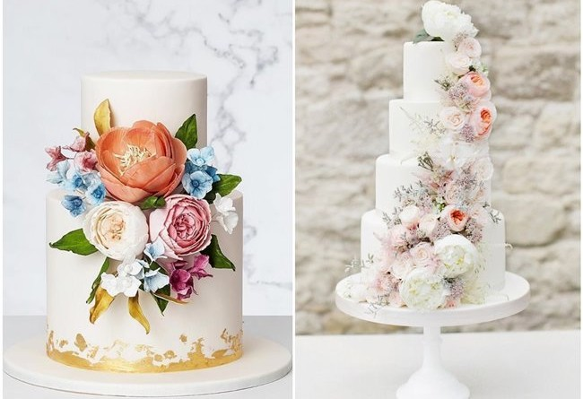 28 Stunning Spring Wedding Cakes Ideas to Embrace