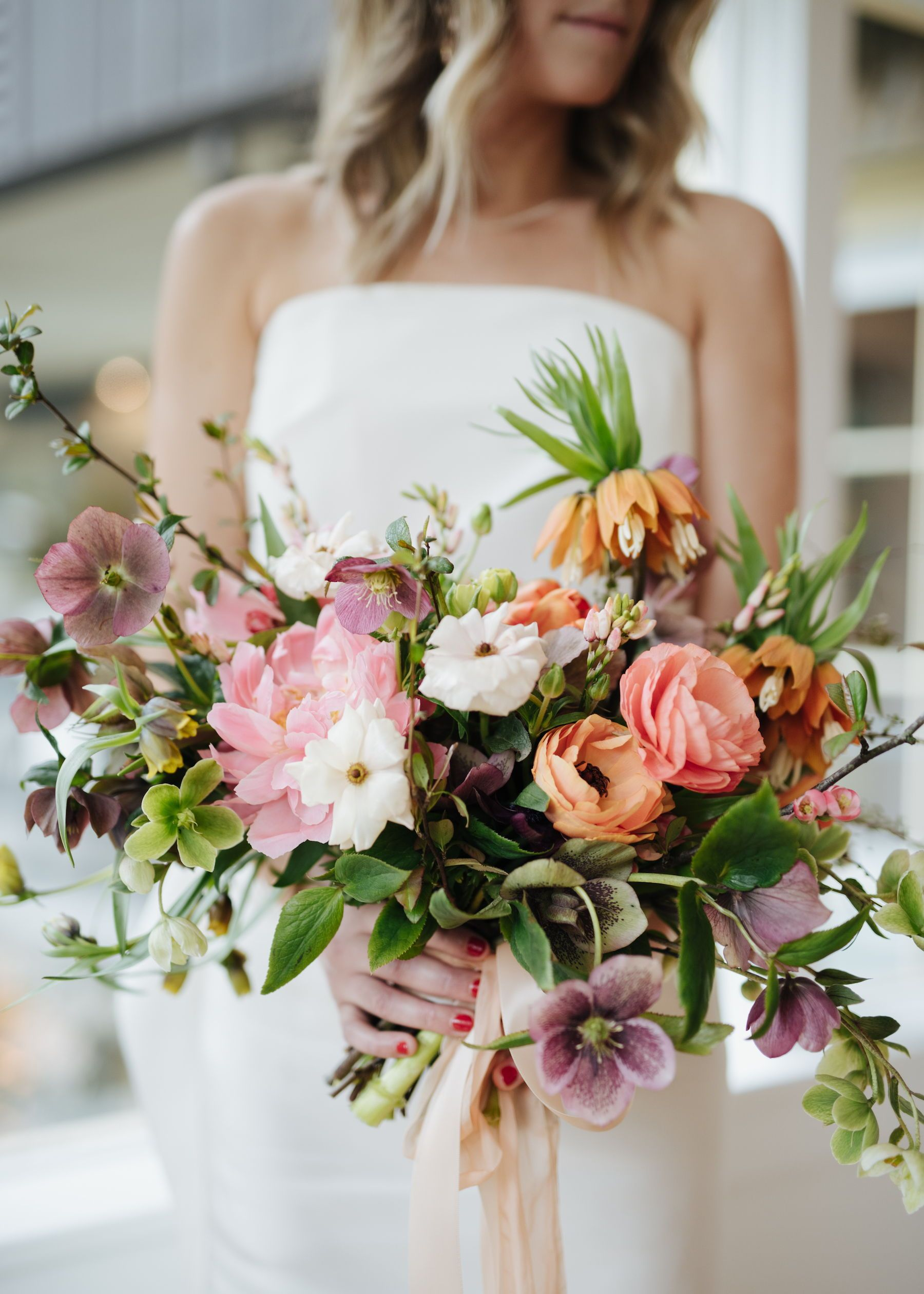 Rustic Spring Wedding Bouquets Ideas