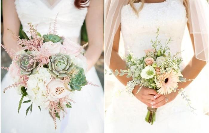 Rustic Spring Wedding Bouquets Ideas